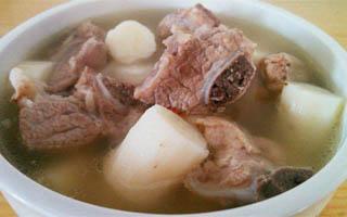 冬季养生汤之山药排骨汤