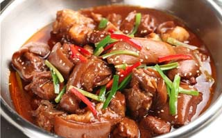 冬季养生菜之红焖羊肉
