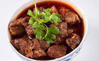 冬季养生菜之红烧牛肉