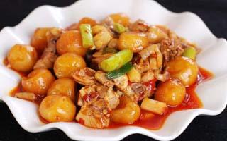 冬季养生菜之板栗炖鸡